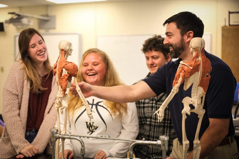 Students at WCCS