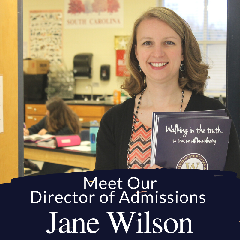 Meet Our Admissions Director, Jane Wilson